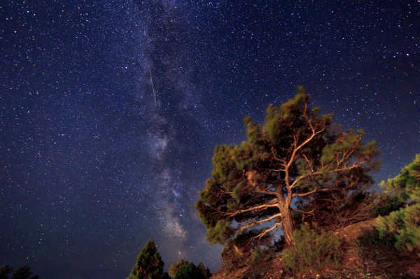 Night sky meditation to relax your neck and head.